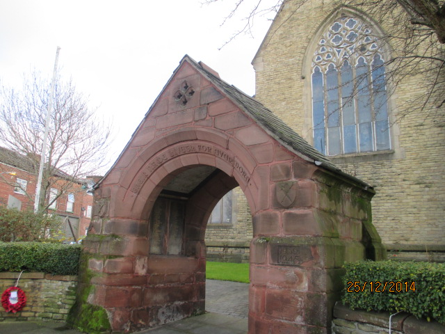Levy War Memorial Lychgate