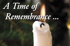 Memorial Service for those recently bereaved