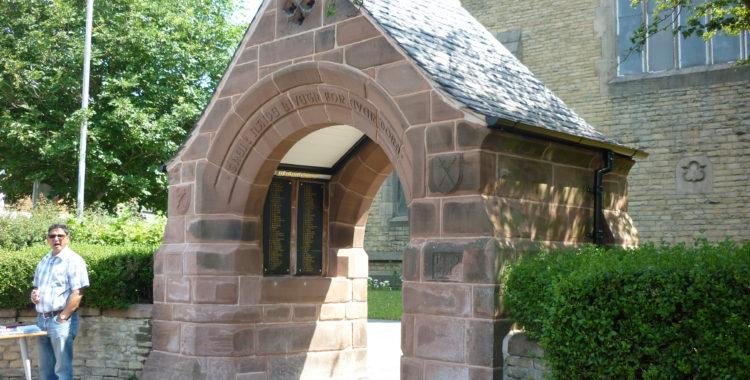 Levenshulme War Memorial Lychgate